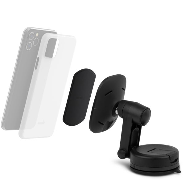SnapTo Universal Car Mount with Wireless Charging back